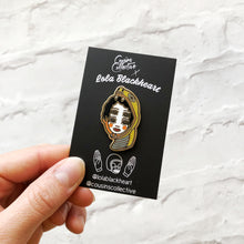 Load image into Gallery viewer, Four-eyed Snake Girl Pin x Lola Blackheart