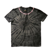 Load image into Gallery viewer, Barbed Wire Embroidered Tie Dye T-shirt