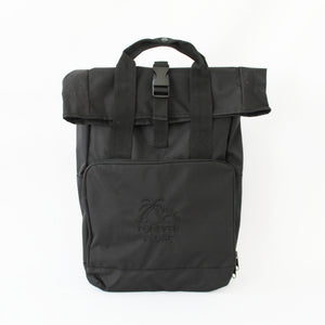 Forever Alone Roll-top Backpack