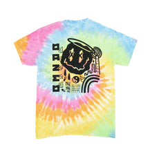 Load image into Gallery viewer, Dazed Pastel Rainbow Tie Dye T-shirt x Zed Tee