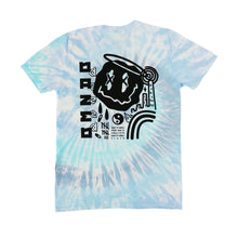 Load image into Gallery viewer, Dazed Blue Tie Dye T-shirt x Zed Tee