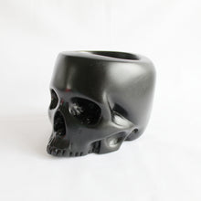 Load image into Gallery viewer, Half Jaw Skull Pot