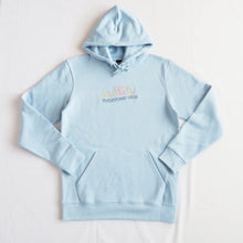 Load image into Gallery viewer, Everyone Dies Embroidered Hoodie - Sky Blue