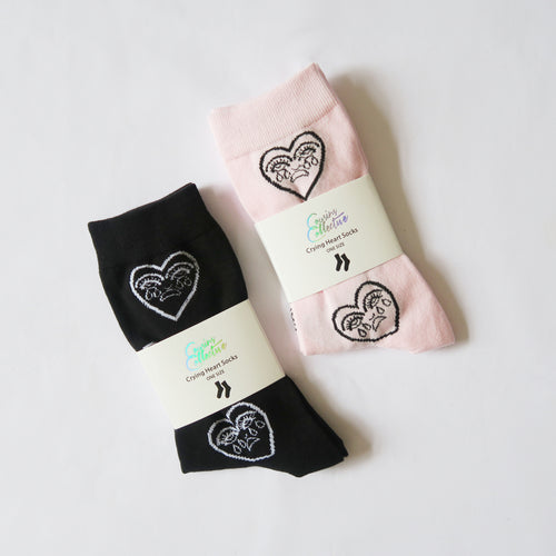 Crying Heart Socks