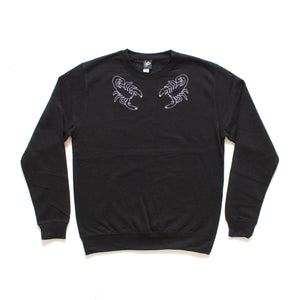Scorpion Collar Embroidered Sweater