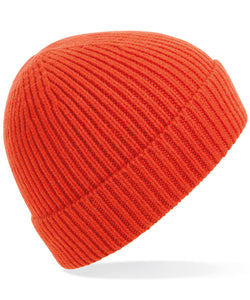 Crying Heart Ribbed Beanie Hat
