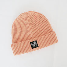 Load image into Gallery viewer, Crying Heart Ribbed Beanie Hat