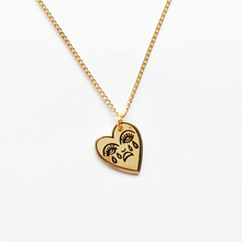 Load image into Gallery viewer, Crying Heart Charm Necklace