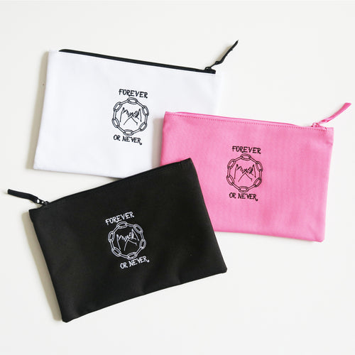 Forever or Never Zip Pouch