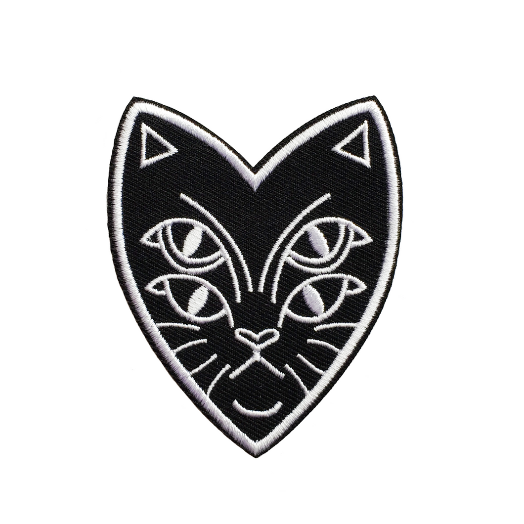 Four Eyes Cat Patch