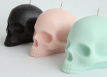 Load image into Gallery viewer, Half Jaw Skull Candle