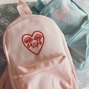 Crying Heart Mini Backpack