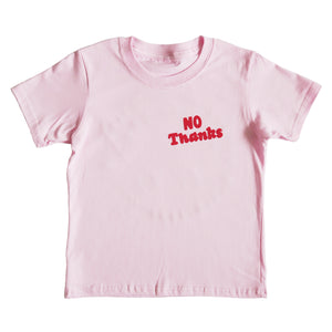 No Thanks Kids T-shirt