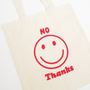 No Thanks Tote Bag