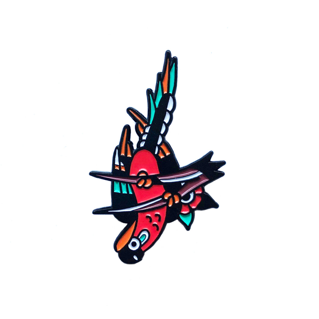 Parrot Pin x George Bonner