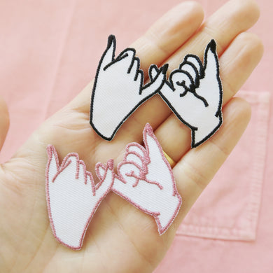 Pinky Promise Mini Patch