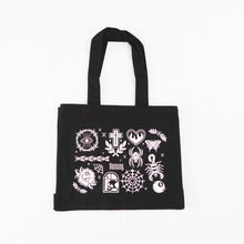 Load image into Gallery viewer, Tattoo Flash Pocket Tote Bag