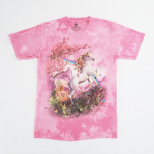 Load image into Gallery viewer, The Mountain Unicorn Tie Dye T-shirt