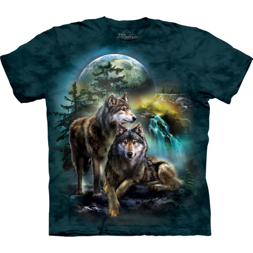 The Mountain Wolf Lookout Tie Dye T-shirt
