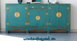 Turquoise Chinese Furniture