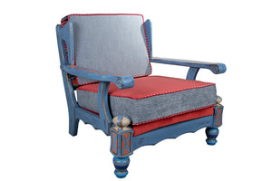 Chic Distressed Armchair