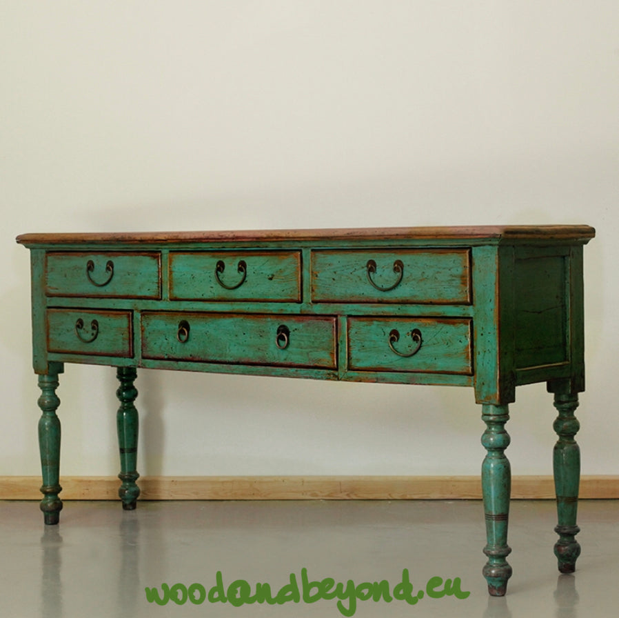 Solid Wood Chinese Console