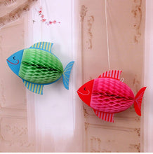 Load image into Gallery viewer, Fish and Bird Paper Hanging Lanterns