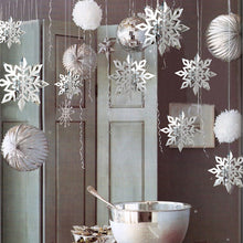Load image into Gallery viewer, Snowflake Hanging Ornaments