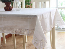 Load image into Gallery viewer, Linen Dinning Tablecloth