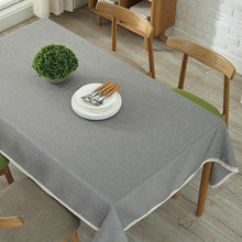 Load image into Gallery viewer, Linen Tablecloth in Different Colors