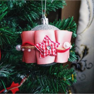 Christmas Decorations Chain Ribbon