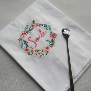 Super Absorbent Embroidery Fabric Napkin