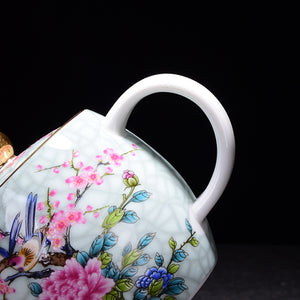 Flower and Bird Teapot