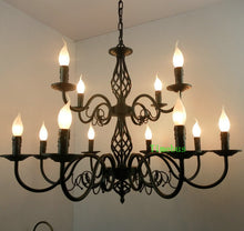Load image into Gallery viewer, Candles Chandelier