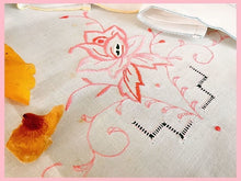 Load image into Gallery viewer, Modern Exquisite Embroidery Flower Napkins