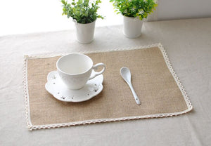 Japanese Retro Linen Place Mat