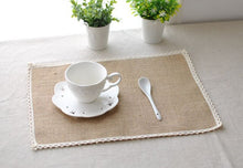 Load image into Gallery viewer, Japanese Retro Linen Place Mat