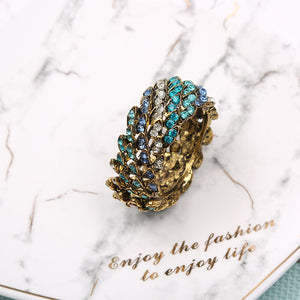 High Quality  Blue Diamond  Napkin Ring 6 Pieces