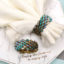 Load image into Gallery viewer, High Quality  Blue Diamond  Napkin Ring 6 Pieces
