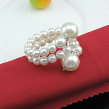 Load image into Gallery viewer, pearl napkin rings