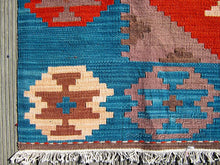 Load image into Gallery viewer, Handmade 100% Wool Kilim