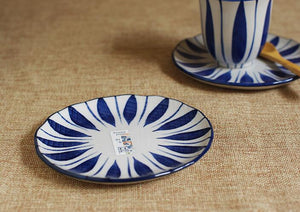 Japanese Blue White Plate
