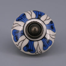 Load image into Gallery viewer, Blue & White Knob