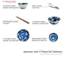 Load image into Gallery viewer, Cherry Blossom Porcelaine Tableware