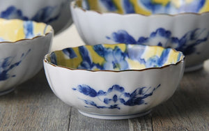 Made In Japan porcelain floral bowls tableware