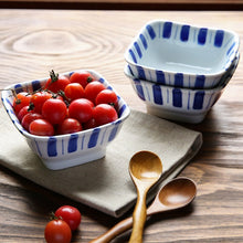 Load image into Gallery viewer, Zakka Style 4 Inch Porcelain Salad Snack Fruit Bowls