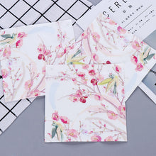 Load image into Gallery viewer, Pink Flower Painting Paper Napkins