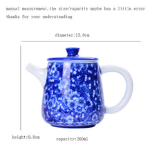 Load image into Gallery viewer, Porcelain Teapot