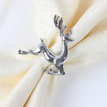 Load image into Gallery viewer, Two Pieces/Lot Christmas Deer Napkin Ring