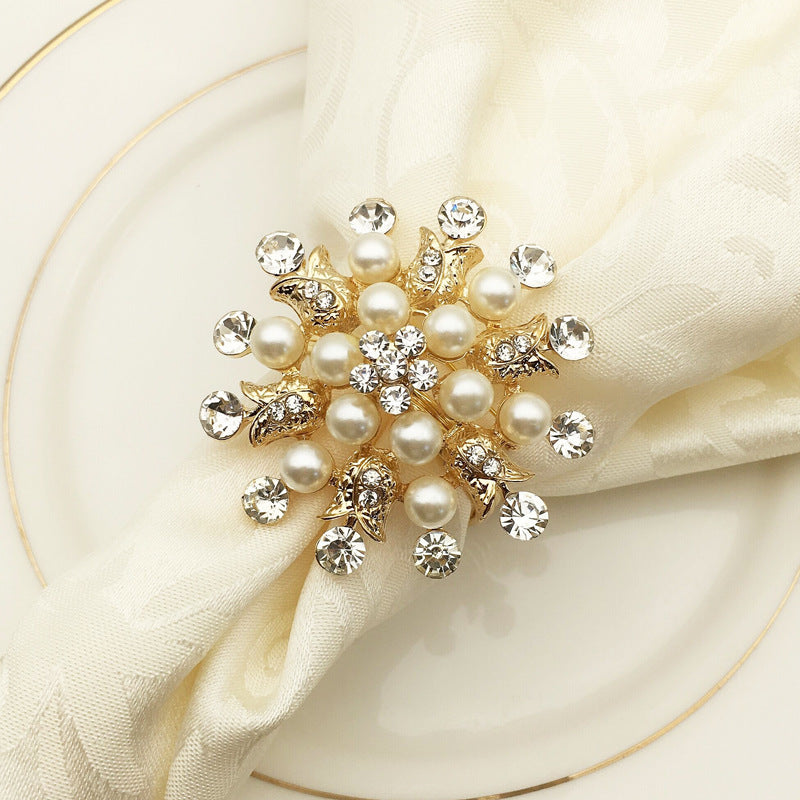 Wedding, Christmas, Party Napkin Ring 10 Pieces/Lot